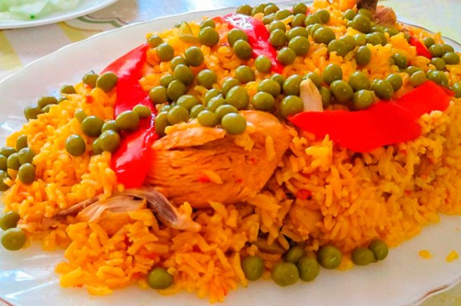 hispanic yellow rice